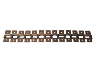 双节距滚子链输送用附件