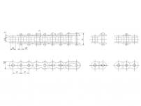 A係列單排短節距精密滾子鏈
